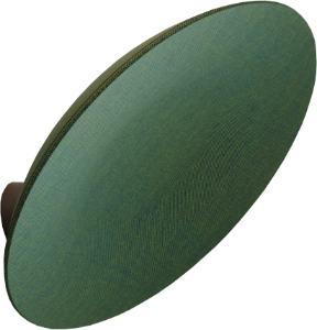 Een afbeelding van een akoestisch wandpaneel op Akoestiekspecialist genaamd BuzziSpace BuzziDish.