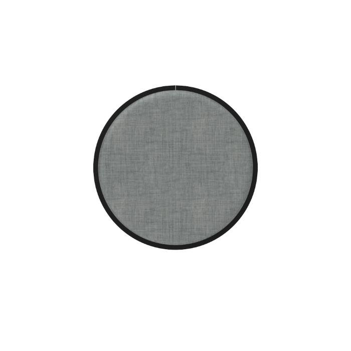 Een afbeelding van een akoestisch wandpaneel op Akoestiekspecialist genaamd BuzziSpace BuzziMood Round.