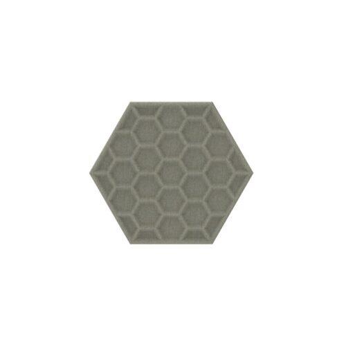 Een afbeelding van een akoestisch wandpaneel op Akoestiekspecialist genaamd BuzziSpace BuzziTile 3D Hexa.