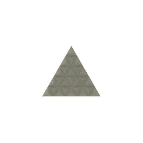 Een afbeelding van een akoestisch wandpaneel op Akoestiekspecialist genaamd BuzziSpace BuzziTile 3D Triangle L.