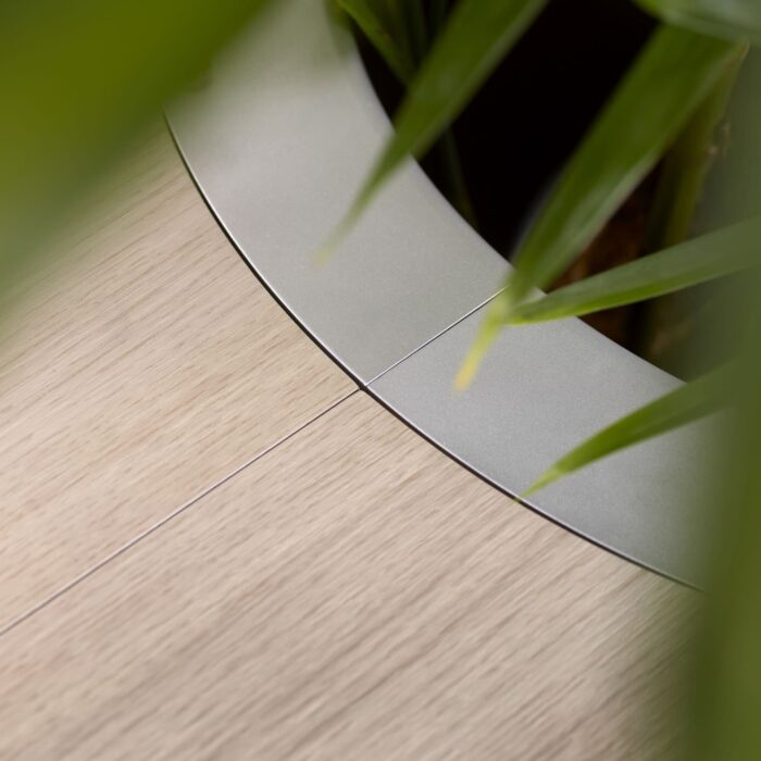 Een afbeelding van een akoestische meubel op Akoestiekspecialist genaamd Offecct On Point.