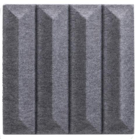 Een afbeelding van een akoestisch wandpaneel op Akoestiekspecialist genaamd Offecct Soundwave® Ceramic.