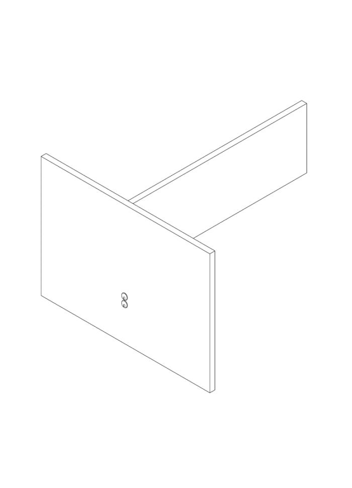 Een afbeelding van een akoestisch bureauscherm op Akoestiekspecialist genaamd Deblick Bureauscherm Duo Expand.
