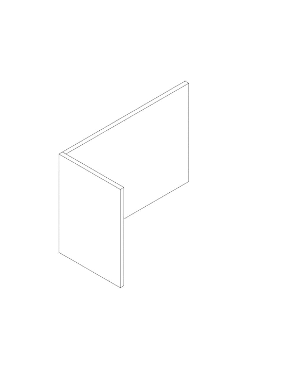 Een afbeelding van een akoestisch bureauscherm op Akoestiekspecialist genaamd Deblick Bureauscherm Mono Expand.