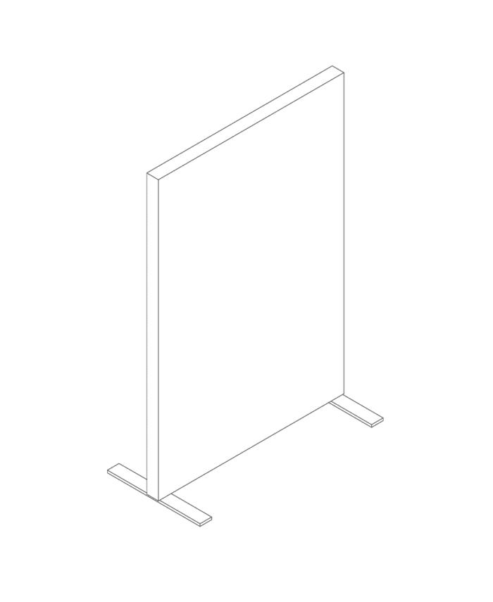 Een afbeelding van een akoestische ruimteverdeler op Akoestiekspecialist genaamd Deblick Ruimteverdeler.