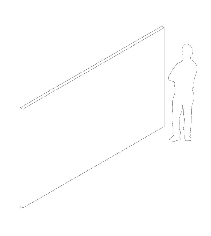 Een afbeelding van een akoestisch wandpaneel op Akoestiekspecialist genaamd Deblick Wandpaneel Bedrukt.
