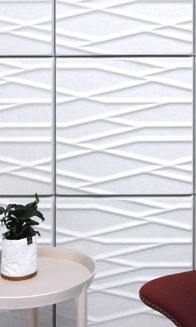 Een afbeelding van een akoestisch wandpaneel op Akoestiekspecialist genaamd Offecct Soundwave® Botanic.